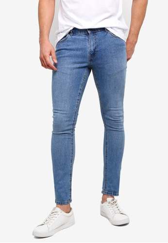 Factorie 藍色 Skinny Leg Denim Jeans B08C3AAFCE688CGS_1