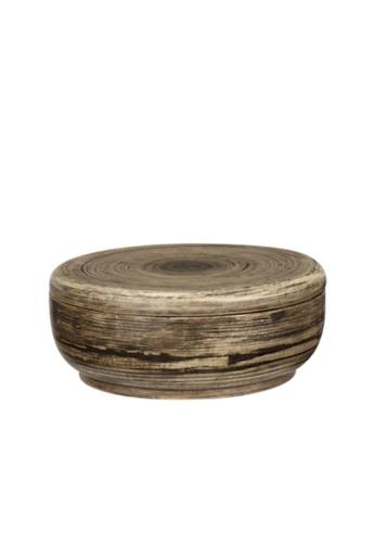 Stylodeco Wooden Round Storage Box, L DBF2AHLBFE5B35GS_1