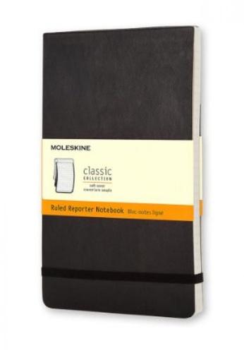 Moleskine black Classic Notebooks Ruled Reporter Soft Black Pocket BD183HL7CBD349GS_1