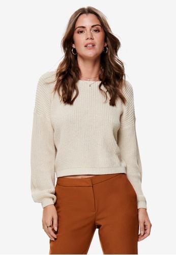 ONLY grey Xenia Long Sleeve Pullover 1A813AA6E47719GS_1