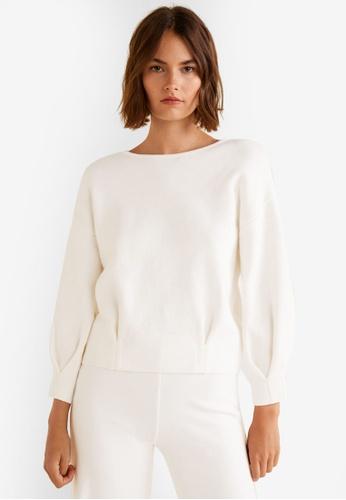 Mango beige Organic Cotton Sweater EF924AA0479766GS_1