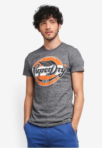 Superdry grey Real Trademark Tee 537D2AAE28760CGS_1