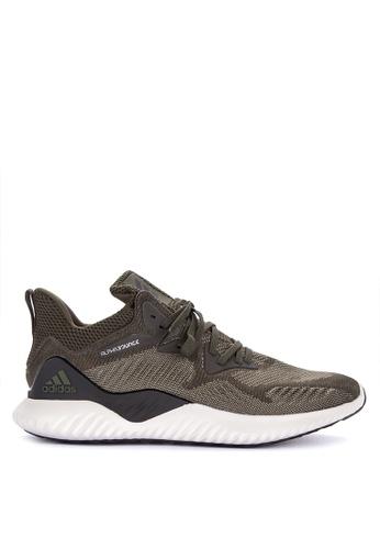 adidas black and beige adidas performance alphabounce beyond m AD678SH0KSRWPH_1