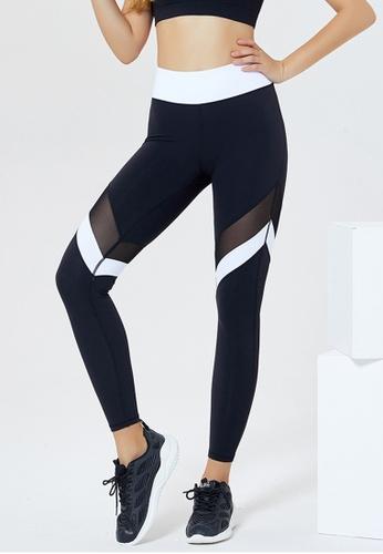 Trendyshop black High-Elastic Fitness Leggings 8FF6FUS2544E6BGS_1