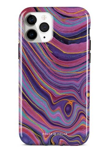 Polar Polar purple Rhythm in the Desert Dual-layer Tough Case Glossy for iPhone 11 Pro 04334AC3C7F1A6GS_1