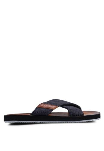 ALDO navy Dwelalian Sandals 7FF45SHC6A8275GS_1
