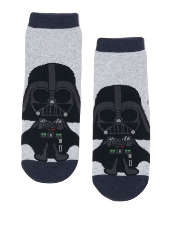 OVS black Star Wars Print Slipper Socks 8DF46KAC001D8EGS_1