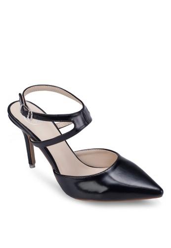 尖頭繞踝細跟高跟鞋, 女鞋, 細帶高跟esprit taiwan鞋