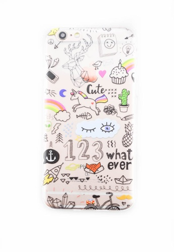 Fancy Cellphone Cases multi Whatever Soft Transparent Case for iPhone 6/6s   FA644AC0J5YNPH_1