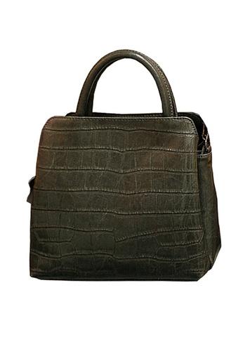 Twenty Eight Shoes grey VANSA Embossed Cow Leather Hand Bag VBW-Hb6899 DB6E3ACF2CFCC1GS_1