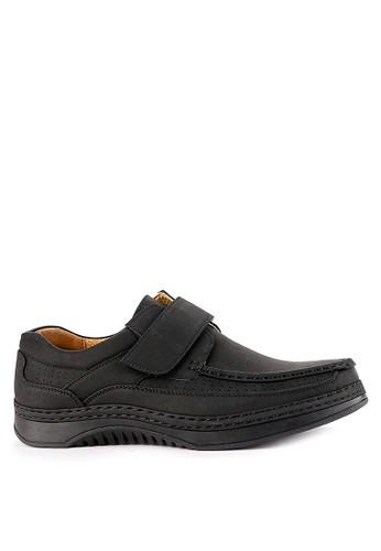 Watchout! Shoes black Semi Moccasin 34B25SH12D153EGS_1