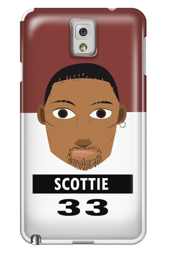 Wonder Cover black and white and brown and red Scottie Matte Hard Case for Samsung Galaxy Note 3 WO617AC21CNAPH_1
