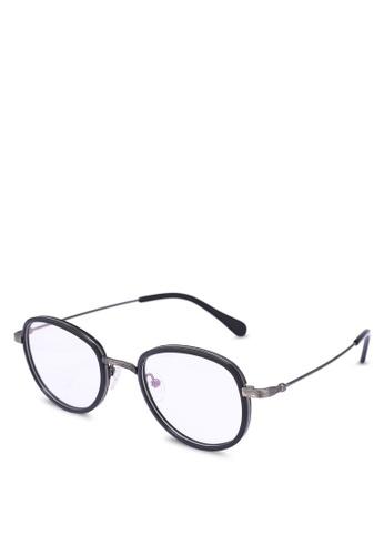 Medium Rare Store black Aden Glasses F141CGL8A2B689GS_1