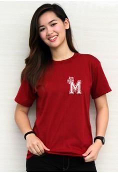 Queen's Initial M T-shirt