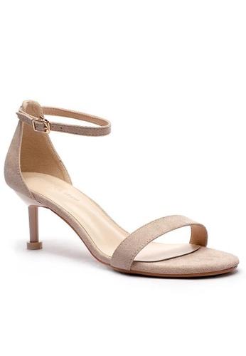 Twenty Eight Shoes 幼帶高踭涼鞋365-1 0FE49SHF4BB839GS_1