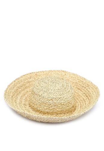 Rubi 多色 寬帽沿草帽 46D25AC4653953GS_1