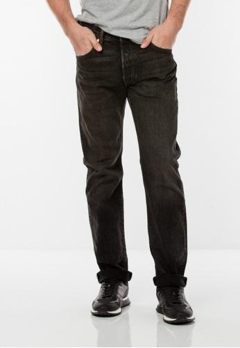 Levi's black 501® Original Fit Jeans DFB65AA735AC6BGS_1