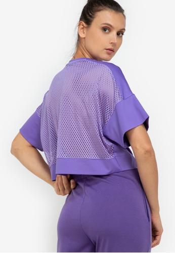 ZALORA ACTIVE purple Crop Back Mesh Sports Top FB487AA1732A1FGS_1