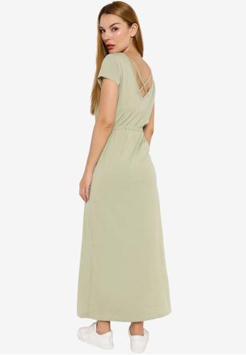 ONLY green May Life Short Sleeve String Maxi Dress 9372AAA6E84FA8GS_1