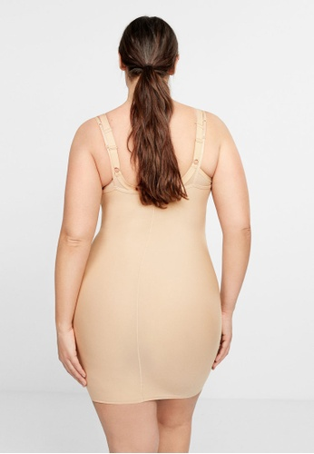 5e72aa9f802d6 Shop Violeta by MANGO Plus Size Shapewear Dress Online on ZALORA Philippines