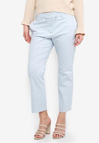 ESPRIT blue Woven Regular Pants 36571AA1FEDA00GS_1