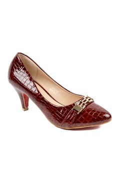 Novska Ladies Comfortable High Heels Platform Shoes