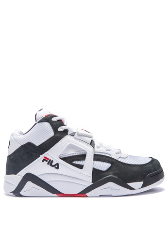 FILA white BB-CAGE MID Sport Shoes A2DFDSH44B26EAGS_1