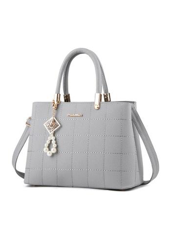 TCWK grey Ladies Handbag TC258AC01KASMY_1