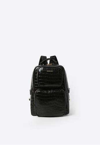 BERACAMY black BERACAMY NORA Backpack - Embossed Black 2D504ACE7C5DF0GS_1