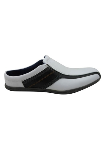 midzone white Comfortable Leather Slip On MI949SH47ZHCMY_1