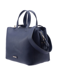 2c3932f5ce 20% OFF Hush Puppies Hush Puppies Women s Gilda Satchel (L) Navy RM 299.00  NOW RM 239.20 Sizes One Size