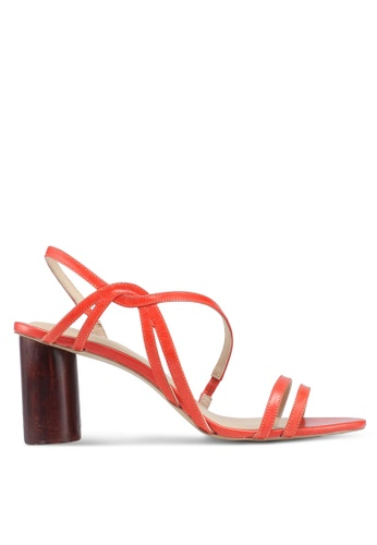 OCEEDEE orange Fleur Heels D247BSHC9272CDGS_1