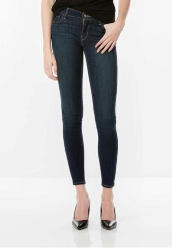 Levi's blue 710 Super Skinny Jeans LE843AA0F0PZSG_1