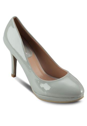經典漆皮尖頭高zalora taiwan 時尚購物網鞋子跟鞋, 女鞋, 厚底高跟鞋