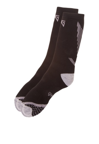 Gametime black Air Long Socks GA593AC0JC69PH_1