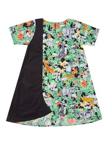 Rianty Kids black and green Dress Anak Zia BF8E9KAE17D292GS_1