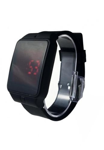 Lucky JX black Electronic Watches 2 E060DAC56E47A2GS_1
