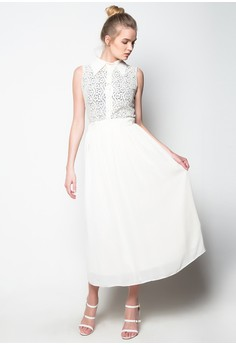 Only One Lace Maxi Dress