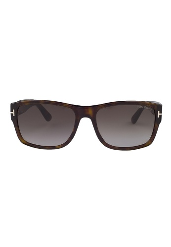 Tom Ford brown TOM FORD Mason Sunglasses FT0445 52B TO545AC73JIOMY_1