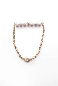 Howlite Bar Bracelet