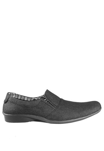 Dr. Kevin black Dr. Kevin Men Casual Shoes Slip On 13286 - Black DR982SH0UY4NID_1
