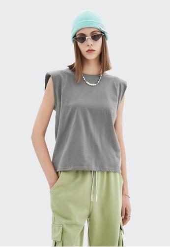 Twenty Eight Shoes Loose-Fitting Sleeveless T-shirt 6322GS21 AC38BAAD5C13A6GS_1