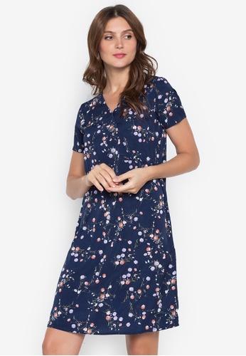 Lifestyle by Attitudes blue Myrna Dress 71F26AA114A553GS_1