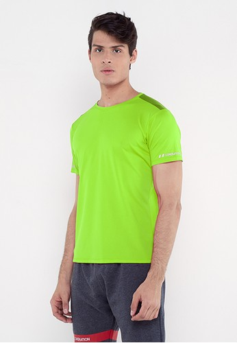 Corenation Active green Edin Short Sleeve - Green Neon CAEB0AABAAB6AEGS_1