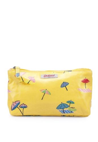 Cath Kidston yellow Sunny Parasols Zip Makeup Bag C9826AC056EF03GS_1