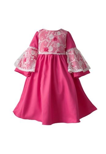 Pretty Girl Collection pink and purple Aminah Dress Muslim F3E38KAC077B51GS_1