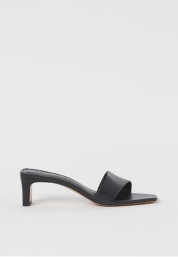 H&M black Mules 67232SH7A32311GS_1