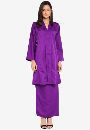 Nuraini purple Kebaya Pesak Riau 78AC3AA5DB982BGS_1