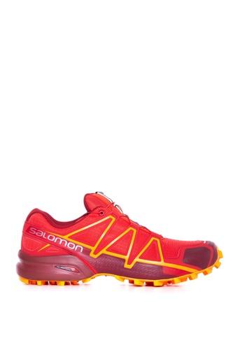 Salomon red Salomon Speedcross 4 High Risk /Rd Dahlia 5EE8DSH0536C62GS_1