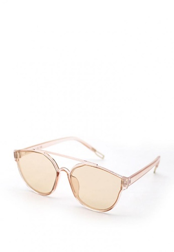 Peculiar and Odd pink Round Avi Styled 15996 Trans Lenses Sunglasses F3129GLBE47E11GS_1
